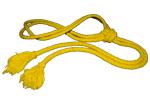 Corda Amarela - O Ouro - Significa a valorização do aprendizado que será desenvolvido á partir desta graduação - Yellow (the Gold) represents the value of the new student and of the teaching itself - Κίτρινο κορδόνι – Το Κίτρινο (το Χρυσό) αντιπροσωπεύει την αξία ενός νέου μαθητή και της ίδιας της διδασκαλίας